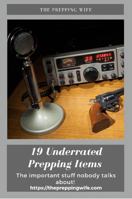 19 Underrated Prepping Items